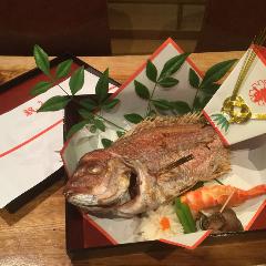 祝い鯛の塩焼き【テイクアウト】