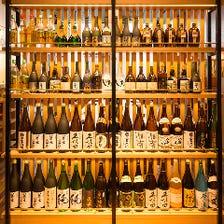 種類豊富な日本酒・焼酎メニュー
