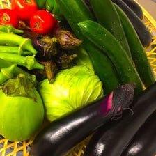 地場野菜を使用しております