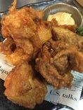 鶏のから揚げ味噌マヨ