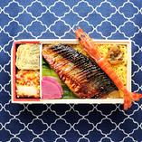 季節ご飯の焼き魚弁当