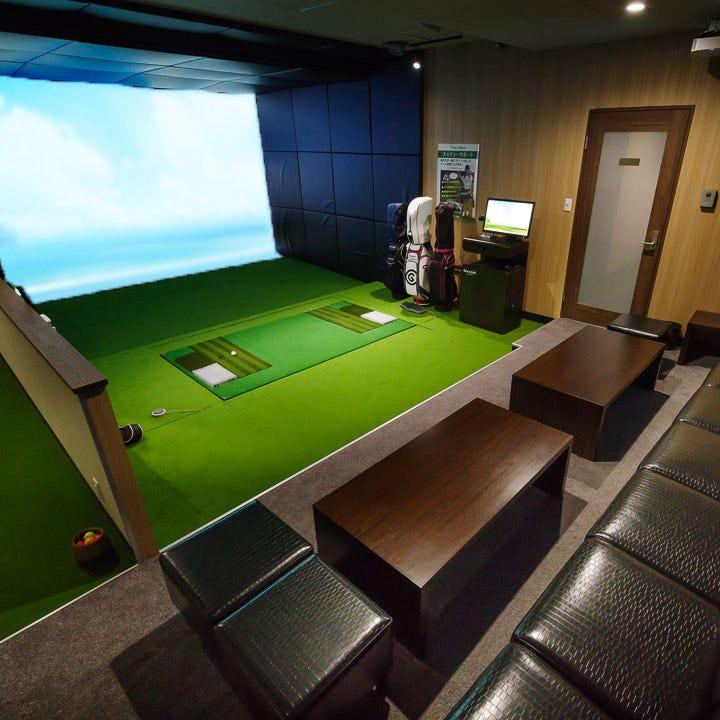 会社宴会に人気!シミュレーションゴルフ付きのコースをご用意