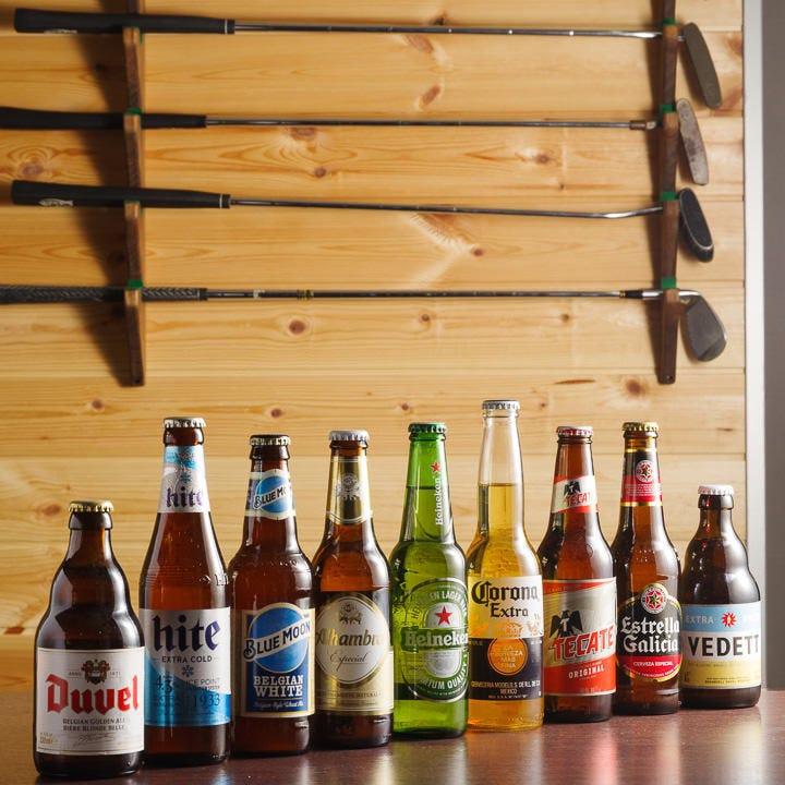 世界のビールをラインナップしました!