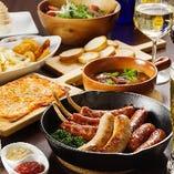宴会コースは2時間飲み放題付きで3種類をご用意。