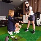 接待や会社宴会に最適な1.5Hゴルフ遊び放題&2H飲み放題付コース