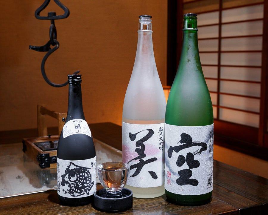 厳選した蔵元直輸入の日本酒