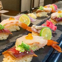 地魚 寿司 鶏料理 おどろき
