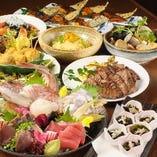 宴会コースはお料理8品+2時間飲み放題で40 00円からご用意!
