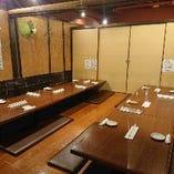 【宴会・飲み会に◎】最大40名様まで可能な掘りごたつ個室