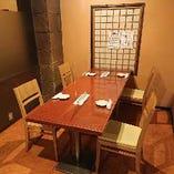 テーブル個室 4名様