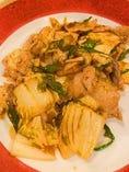 豚肉のキムチ炒め