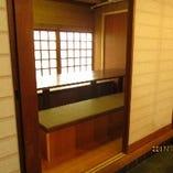 テーブル席(5〜8名様)