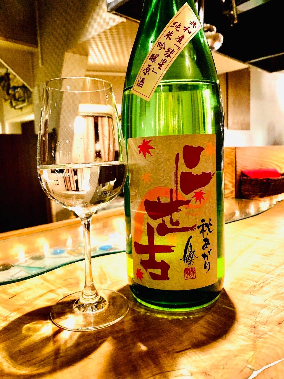 北海道産日本酒も充実