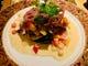 北海道産旬のお魚のポワレも2種類用意しております