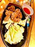 岩見沢日の出町産 キジ胸肉とモモ肉の鉄板焼き