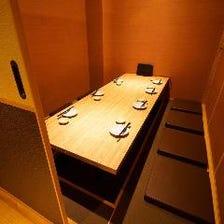 プライベートの守られた個室空間です