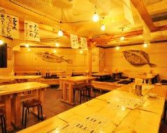 炭火やきとりと活な魚 串八珍 新橋店