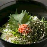お茶漬け(鮭/梅/明太子)【480円(税抜)】