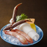 生ずわい蟹刺身(2本)