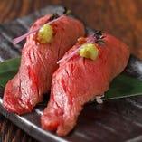 炙り近江牛握り寿司