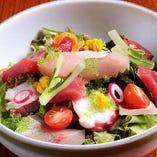 海鮮刺身サラダ