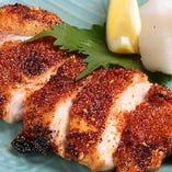 地鶏七味焼き