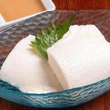京錦庵のおぼろ豆腐