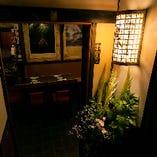 「伊勢丹新宿店」、寄席「新宿末廣亭」の近くの地下一階にございます