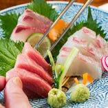 """『鼎』の料理の主役""""魚""""。まさに""""違い""""がわかる""""獲れたての味""""をどうぞ。"""