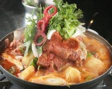韓味一番人気の鍋カムジャタン