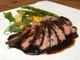 ハンガリー産鴨胸肉のローストバルサミコソース