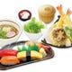 天ぷら、すし、そばが食べられる にぎわい御膳