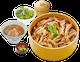 秋の彩り旬の味、舞茸セイロとん汁セット
