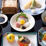 京会席ランチは5,500円からご用意。京都旅行の記念にどうぞ