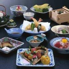【個室確約】繊細な京料理の世界を満喫『京風会席コース(全10品)』
