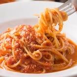 モッツァレラのトマトスパゲッティ
