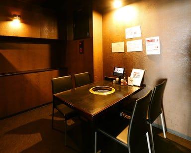 焼肉牛ちゃん 上中野本店  店内の画像