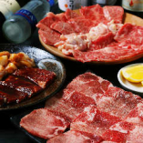 焼肉牛ちゃんのお肉を心行くまで堪能ください