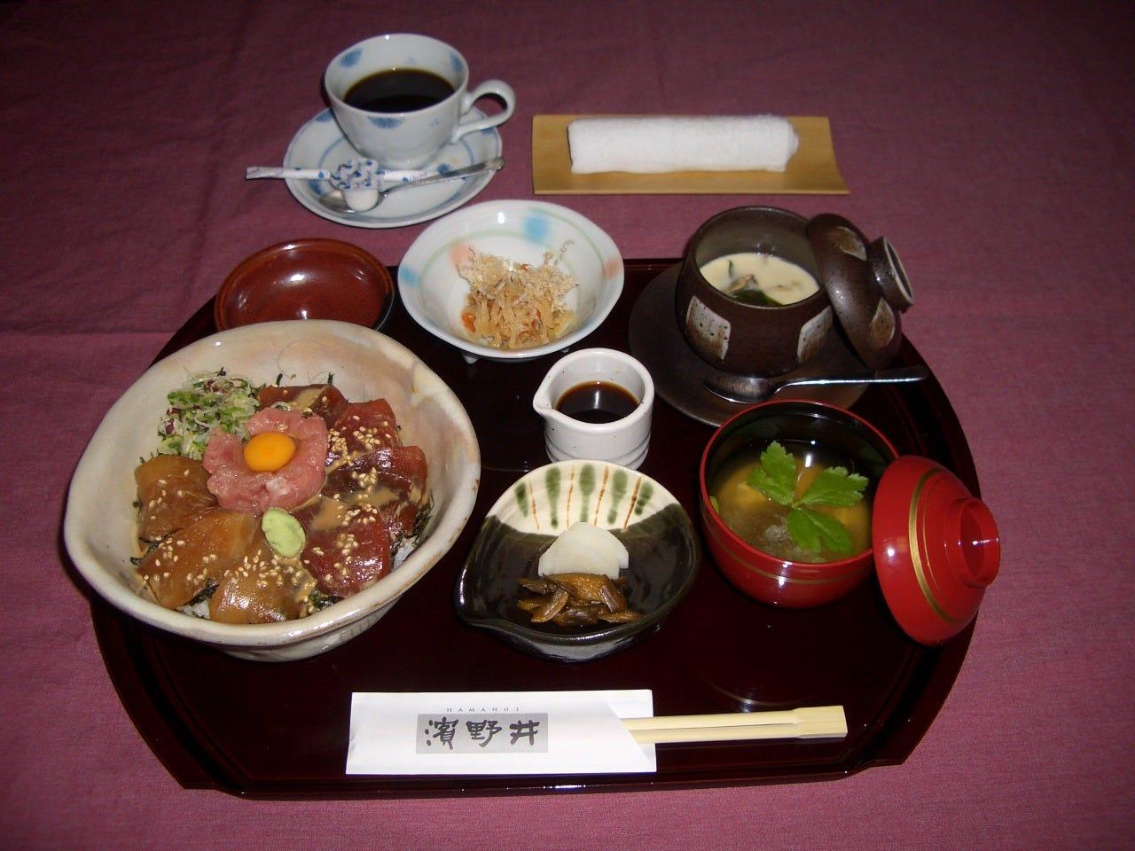 丼ランチセット  730円~