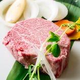 仙台牛テンダーロインステーキ仕立て(160g)