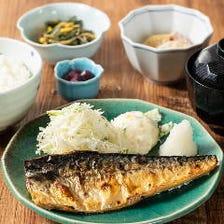 一汁三菜。お米を主役に、家庭の味を