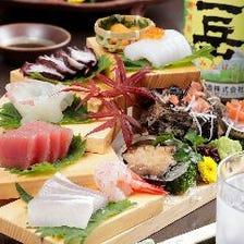 とれたて海鮮料理で九州の旬を味わう