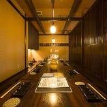 ご宴会に最適な掘りごたつ個室