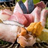 【お刺身】毎日仕入れる新鮮魚介