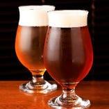 季節のクラフトビールや厳選した地酒が楽しめます!