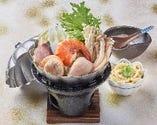 濃厚魚介出汁の海鮮鍋