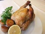 名物ロティサリーチキン!! 写真は丸鶏です