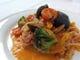 朝採り野菜の香草トマトソースパスタ