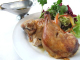 当店名物ロティサリーチキン!数量限定メニューです!丸鶏とハーフサイズの2種類。
