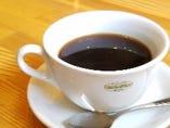 オリジナルブレンド豆のホットコーヒー